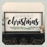 16×32 Merry Christmas Sign