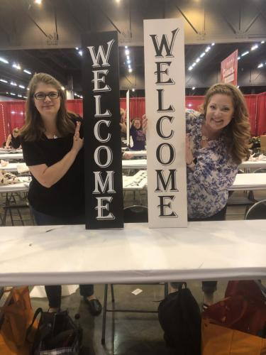 10x48 welcome sign