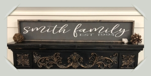 12×48 $69 Name Sign