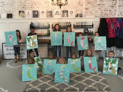 KIDS PAINTING PARTIES