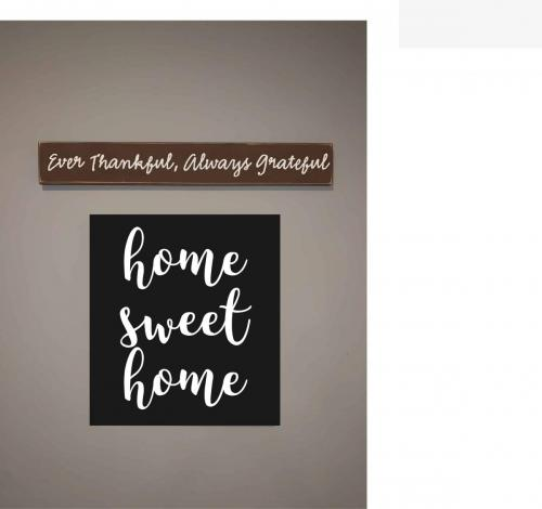 14X18 HOME SWEET HOME $42*PALLET BOARDS NO FRAME*