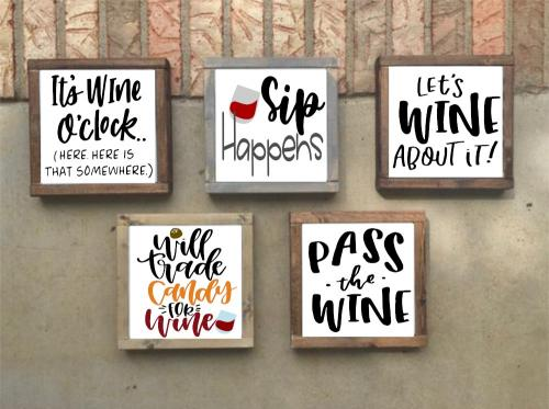 14x14 $45 Wine (Choose 1)